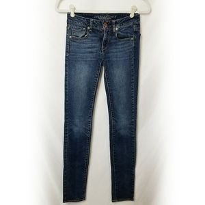 American Eagle | Skinny Stretch Jeans Size 0